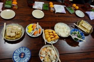 20131207(2)仏教婦人の、食べて喋って忘年会♪2
