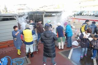 20131230(10)福島にてお餅つき10