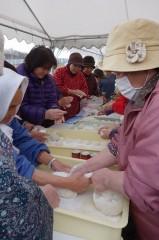20131230(15)福島にてお餅つき15