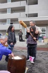 20131230(7)福島にてお餅つき7